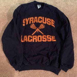 Syracuse lacrosse crewneck